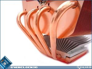 Nexus XiR-3500 Copper Edition Heatpipes