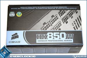 Corsair HX850 Box Front
