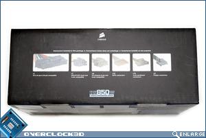 Corsair HX850 Box Side