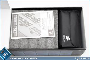 Corsair HX850 Box Open