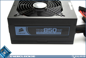 Corsair HX850 Side View