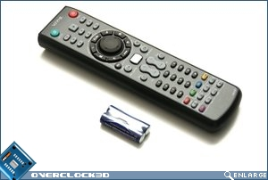 Antec Multimedia Station remote
