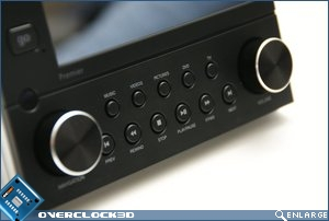 Antec Multimedia Station Close up