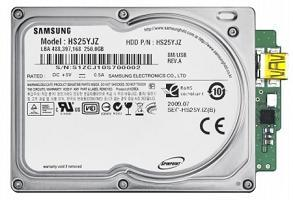 The new Samsung Spinpoint N3U 1.8in HDD
