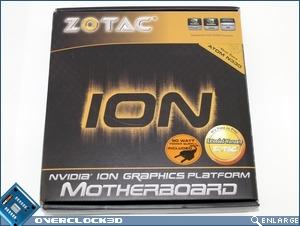 Zotac ION 330 ITX Box Front