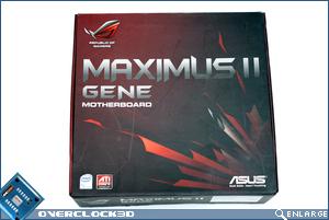 Asus Maximus II Gene Box Front