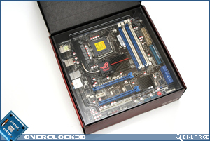 Asus Maximus II Gene Box Open