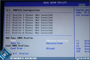 ASUS Maximus II Gene BIOS Profiles