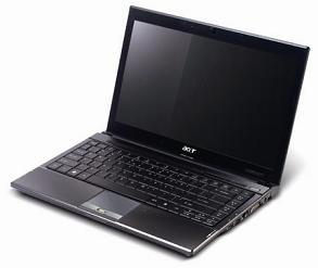The Acer TravelMate 8000 Timeline series notebook