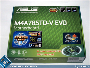 ASUS M4A785TD-V Box Front
