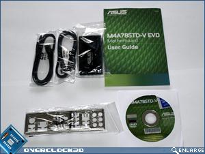 ASUS P4A785TD-V Accessories