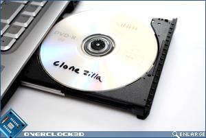 Clonezilla DVD