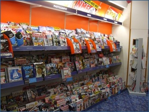 WHSmith Inside Shelves