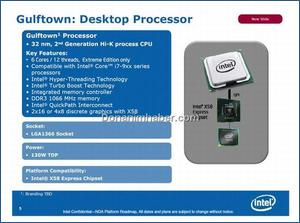 Intel Gulftown Supported by X58 Chipset