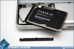 MacBook HDD Removed