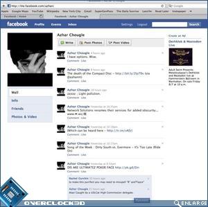 Facebook lite - twitter tirval