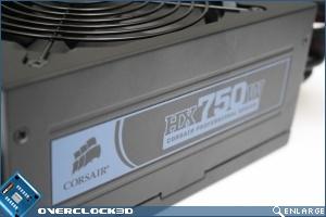 Corsair HX750w Side