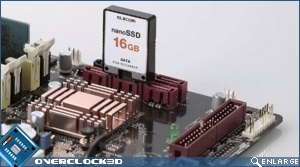 nanoSSD in a SATA port