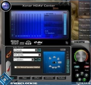 HDAV softwarre