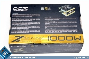 OCZ Z-Series 1000w Box Back
