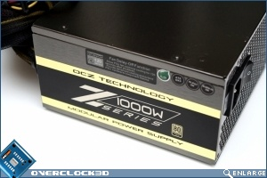 OCZ Z-Series 1000W Side View