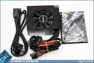 be quiet SFX Power 350w contents