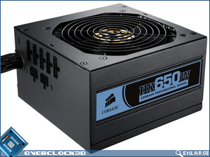 Corsair HX650 Power Supply