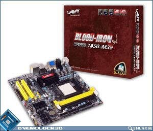 DFI LanParty Blood Iron 785G-M35 Motherboard