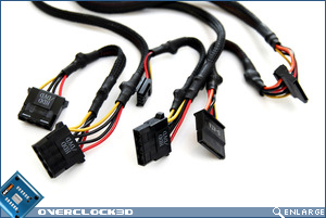 be quiet SFX 350w connectors