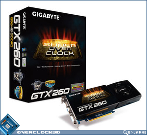 Gigabyte GTX 260 Super OverClock edition