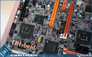 DFI Hybrid P45-ION-T2A2 Motherboard