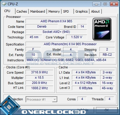 AMD Phenom II X4 965 BE | Overclocking & Conclusion | CPU