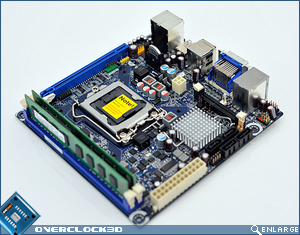 Intel H57 Mini ITX Motherboard