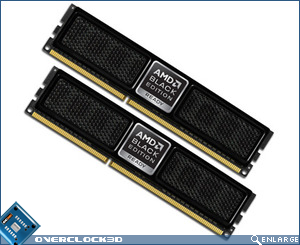 OCZ Black Edition Socket AM3 DDR3 Memory