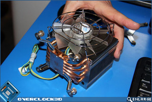Intel's redesigned cpu cooler for gulfstown base and mounting