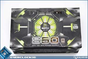 XFX 850w Front