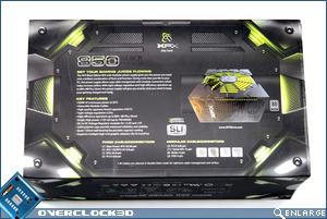 XFX 850w Back