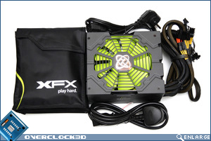XFX 850w Box Contents