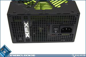 XFX 850w Rear