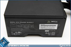 XFX 850w PSU Side
