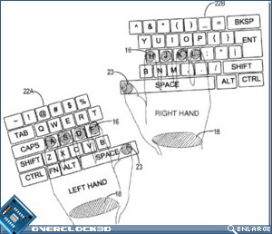 Microsoft's Multitouch screen keyboard
