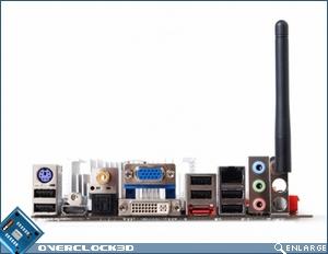 Zotac ION ITX-F Mini ITX Motherboard IO Plate