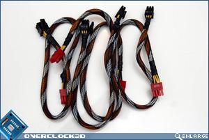 Cougar 1000CM PCI-E Cables