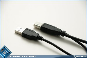 Apacer AC202 double USB cable