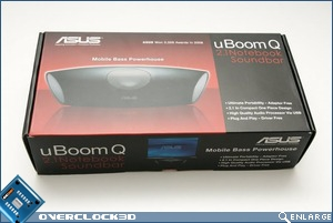 Asus uBoomQ Packaging front