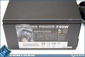 Silver Power SP-SS750M 750w Side