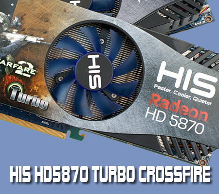 HIS 5870 Turbo  Crossfire Review