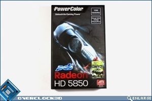 PowerColor PCS+ 5850 Review Box