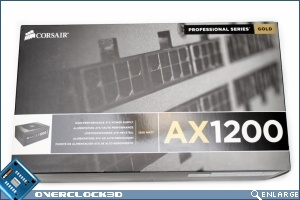 Corsair AX 1200w ATX PSU Box Front