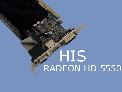 HIS Radeon HD 5550 1GB GDDR3